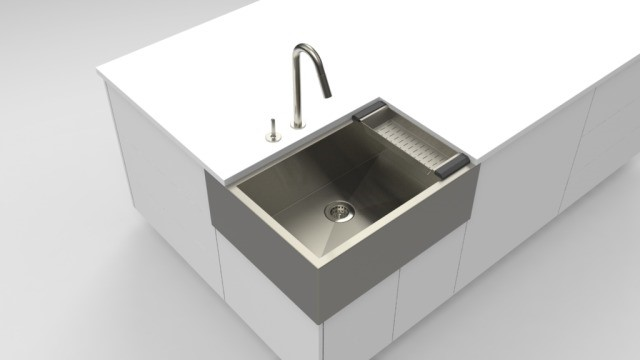 Corner Sink for Kitchen Island