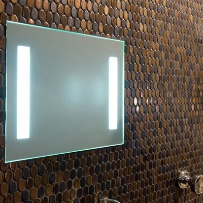 Fog Free Shower Mirror with LED Lighting