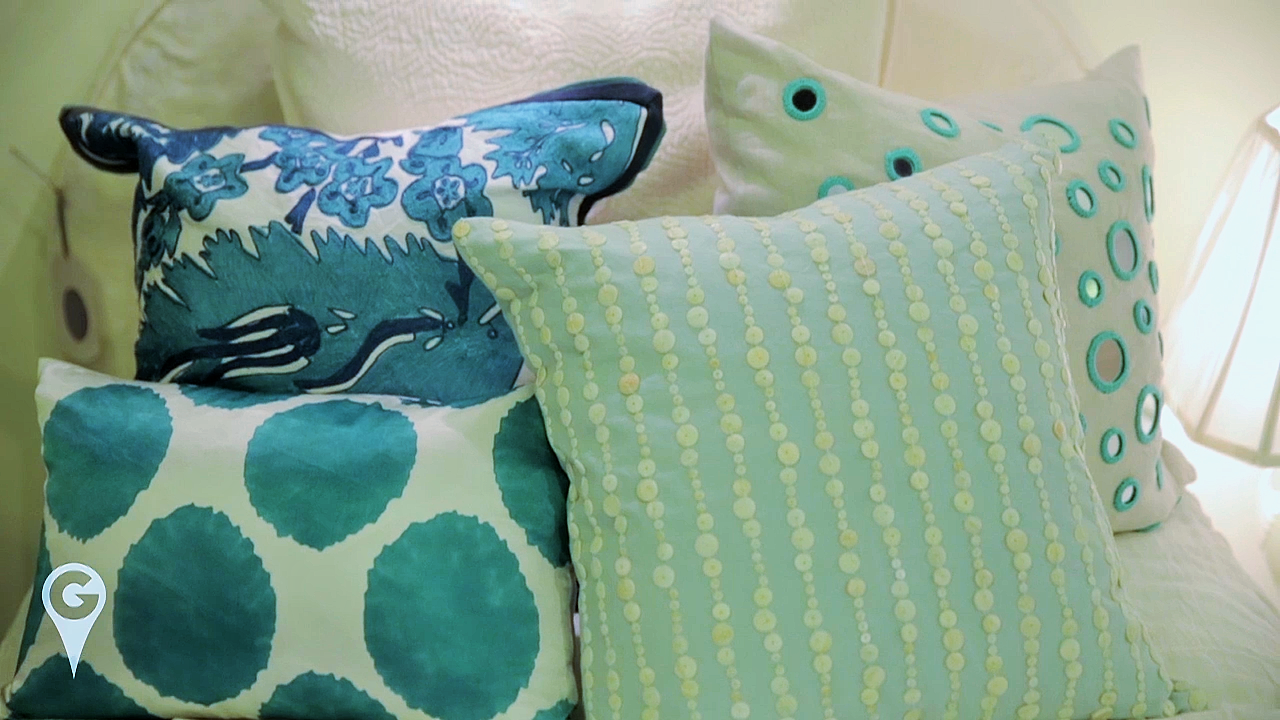 Pillows Blue