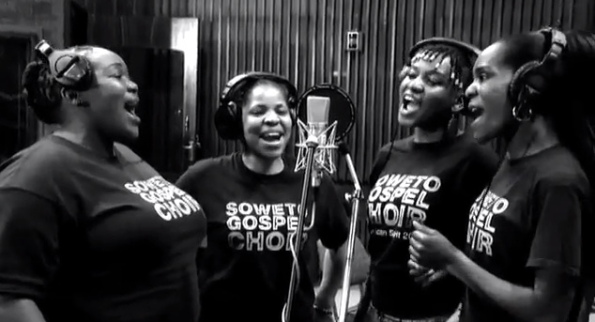 Catchy music to get in the spirit features Soweto Gospel Choir.